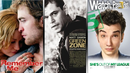Remember Me Movie Review, Green Zone Movie Review, and She's Out of My League Movie Review