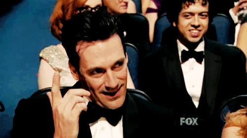 Jon Hamm knows what he's doing.