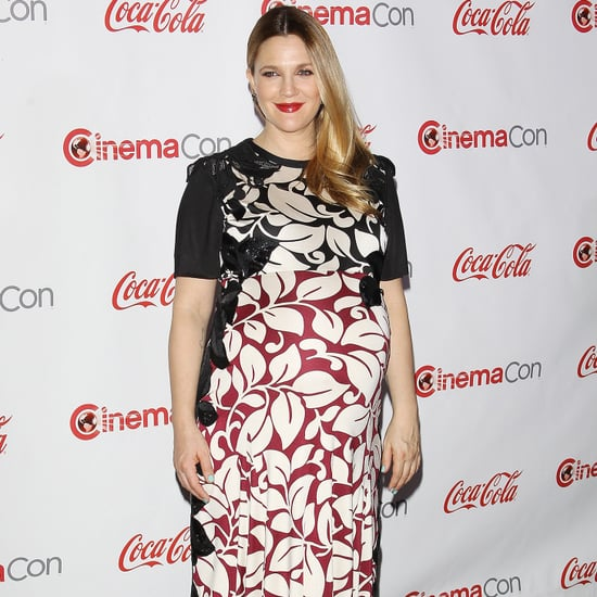 Drew Barrymore Maternity Style Pictures