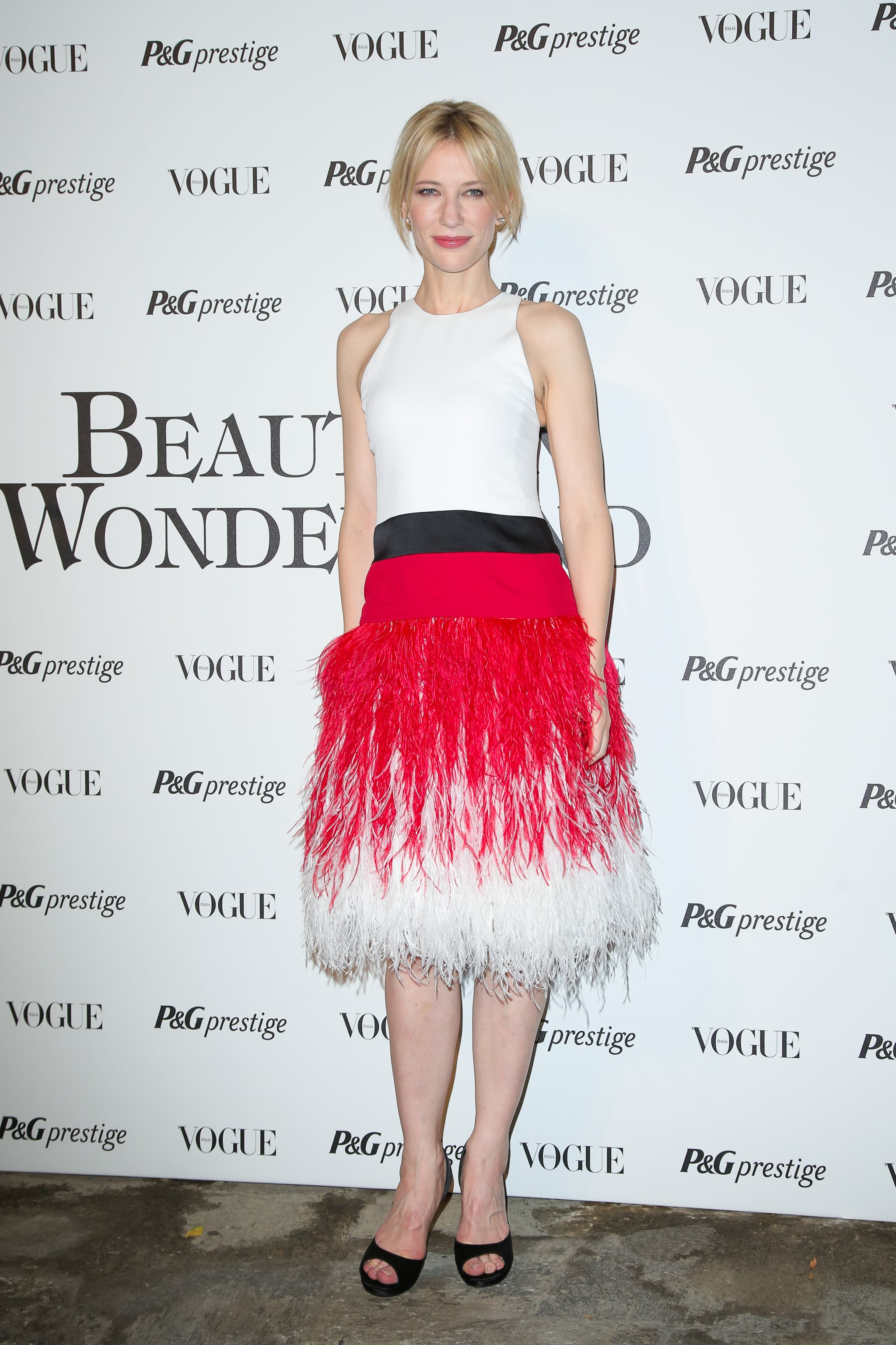 Cate Blanchett attended the Beauty in Wonderland event on Thursday.