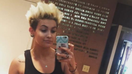 Paris Jackson Suits Up for Prom, Dyes Her Hair to Match Friend's Dress