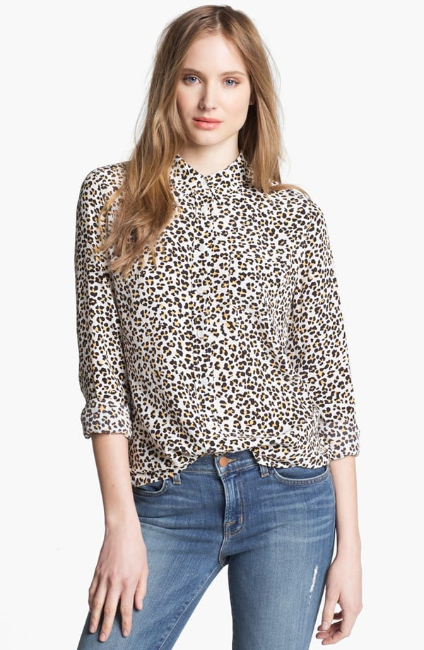 The little leopard print on this Equipment Brett Print Silk Top ($149, originally $248) will go a long way in adding interest to your look year-round.