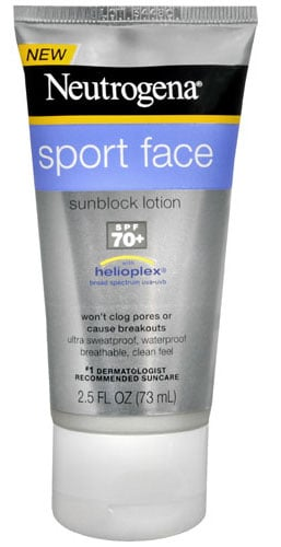 Review of Neutrogena Sport Face Sunblock Lotion SPF 70