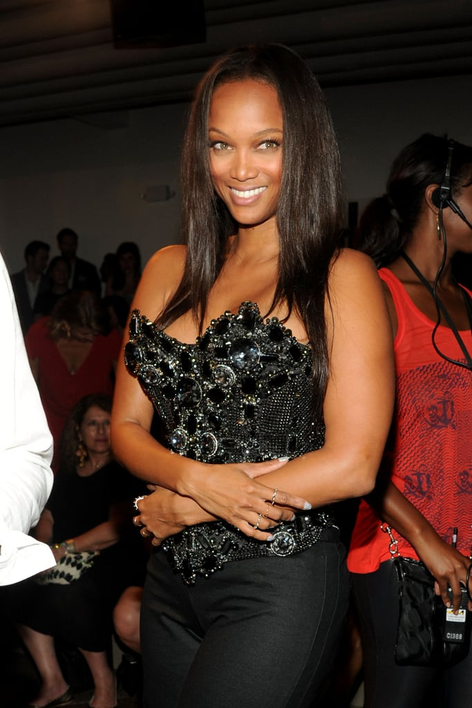 Tyra Banks attended The Blonds' show.