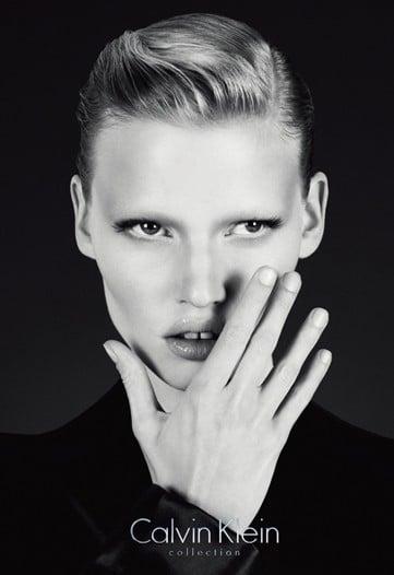 Lara Stone for Calvin Klein Collection Fall 2010 by Mert Alas and Marcus Piggott