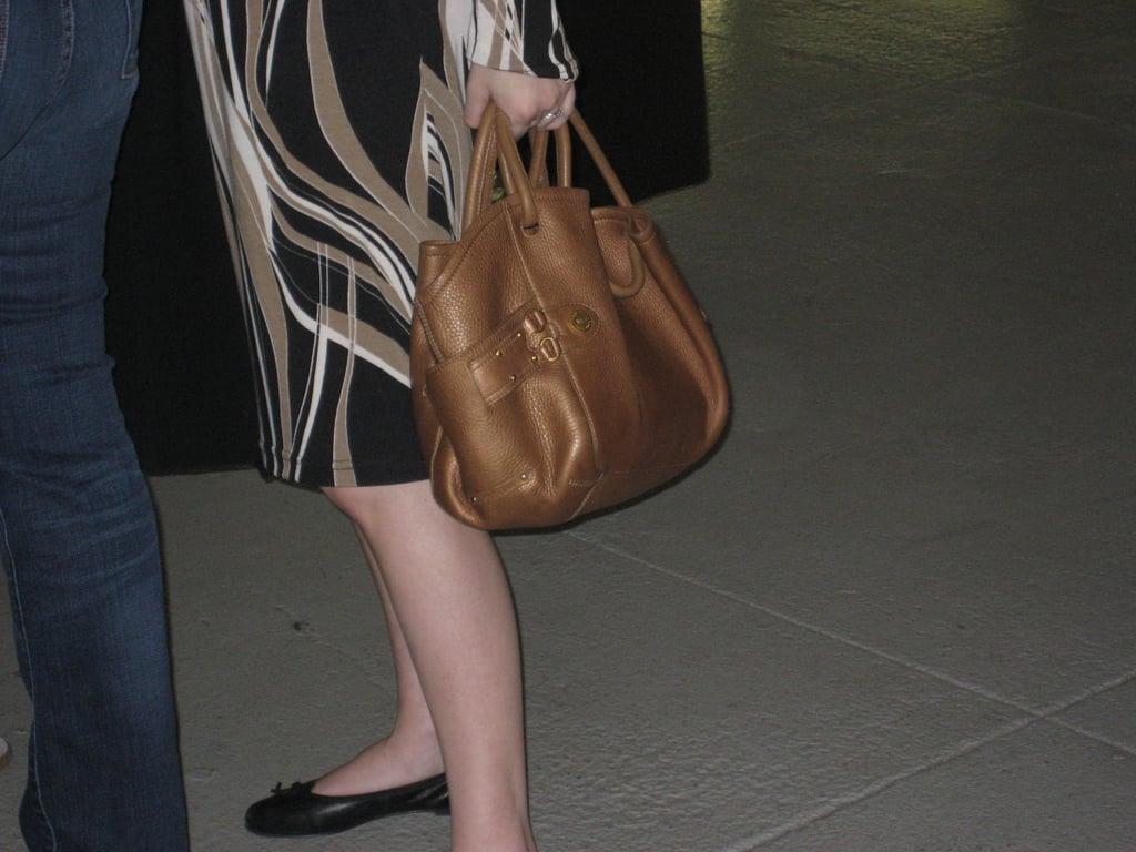 A Cute Little Brown Bag at Rodarte