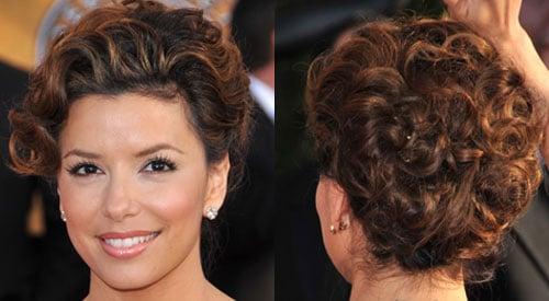 How To Do Eva Longoria's Hair at the 2009 Screen Actors Guild Awards