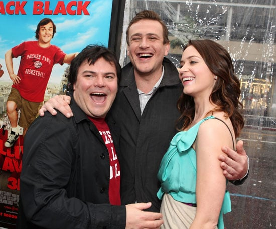 Slide Picture of Jack Black, Jason Segel, and Emily Blunt at Gulliver's Travels Premiere in LA