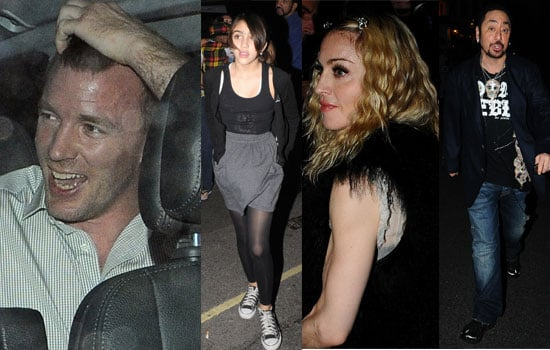 Photos Of Guy Ritchie's 40th Birthday Celebrations At The Punch Bowl in London, Including Madonna, Lourdes Leon, David Gest