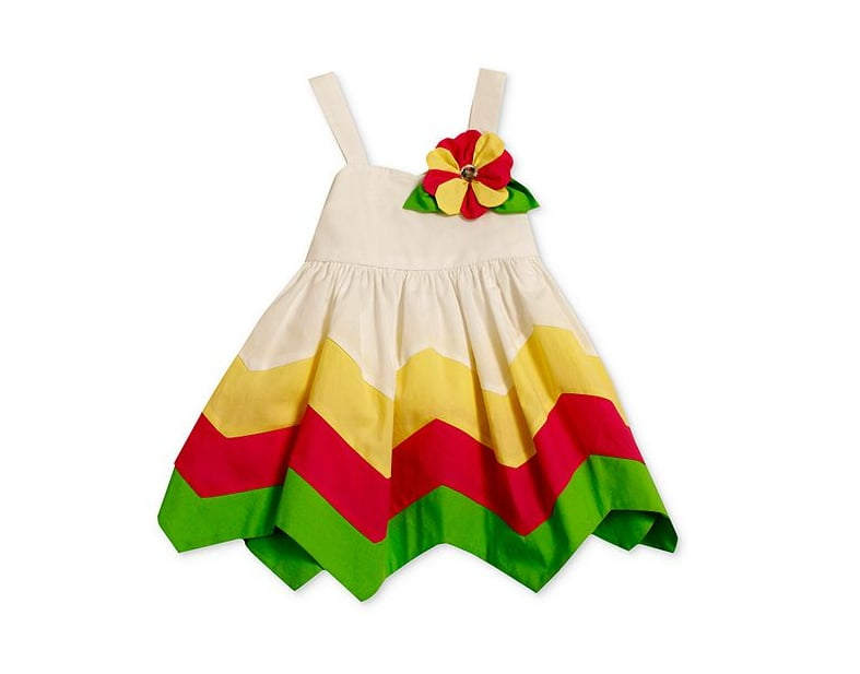 Dress your little girl for any celebration in this Bonnie Baby colorblocked sundress ($18, originally $36).