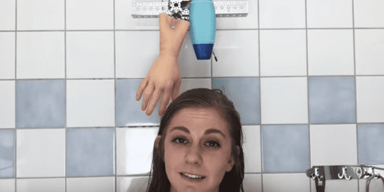Hair-Washing Robot Is Head And Shoulders Above The Routine