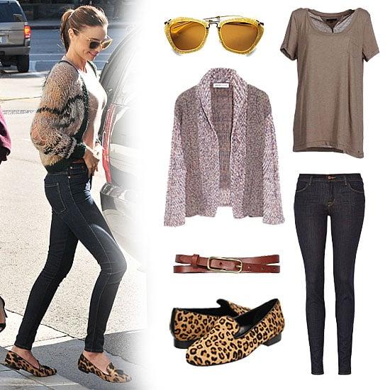 Miranda Kerr's Miu Miu Sunglasses