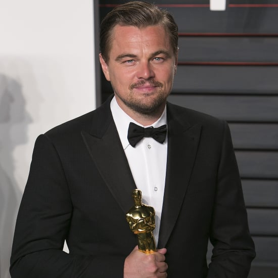 Leonardo DiCaprio and His 2016 Oscars Statue | Pictures