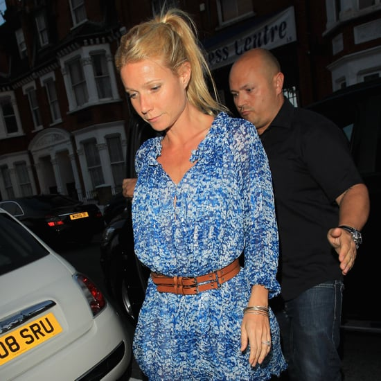 Gwyneth Paltrow Arriving to Beyonce's Secret London Show 2011-06-27 16:51:31