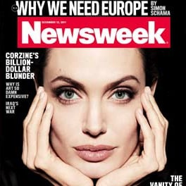 Angelina Jolie Beautiful Newsweek Cover Picture