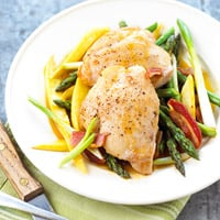 Fast & Easy Dinner: Chicken and Asparagus Skillet