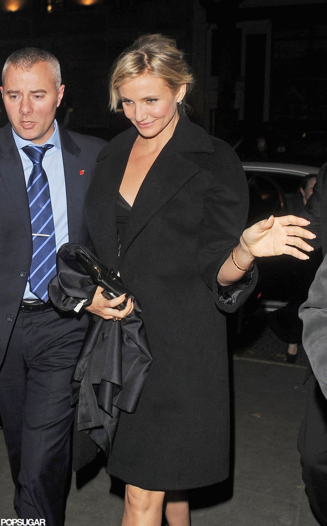 Cameron Diaz stepped out in London to celebrate the opening of Gambit.