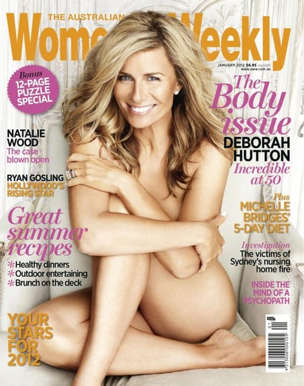 Deborah Hutton Defends Her Choice to Appear Naked on the Cover of the Australian's Women's Weekly