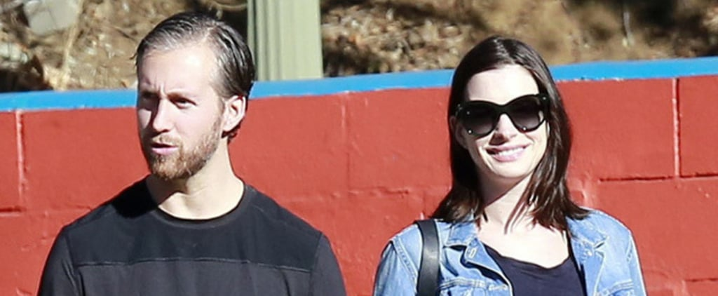 Anne Hathaway Steps Out After Pregnancy News — See Her Baby Bump!