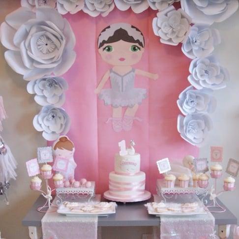 Plan a Ballerina-Themed Birthday Party