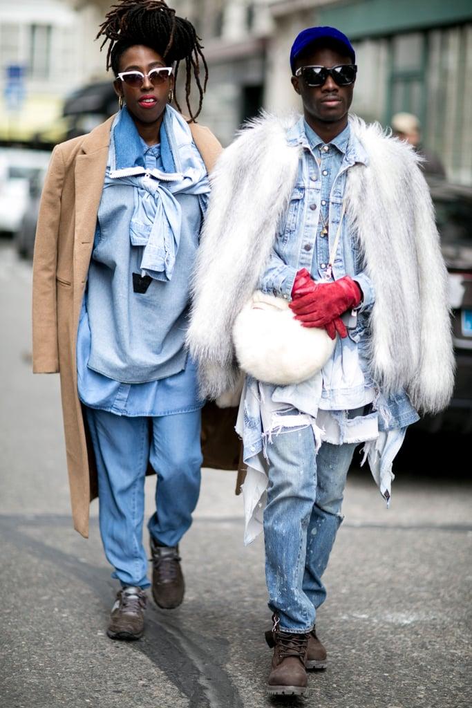 Paris Fashion Week Street Style Fall 2015 Popsugar Fashion
