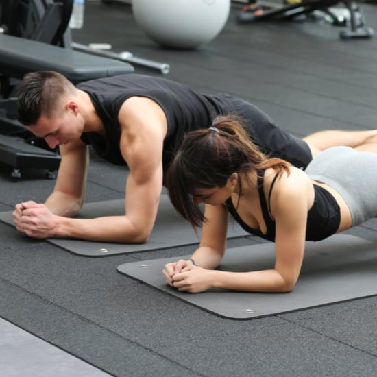 Husband Works Out With Wife For a Month