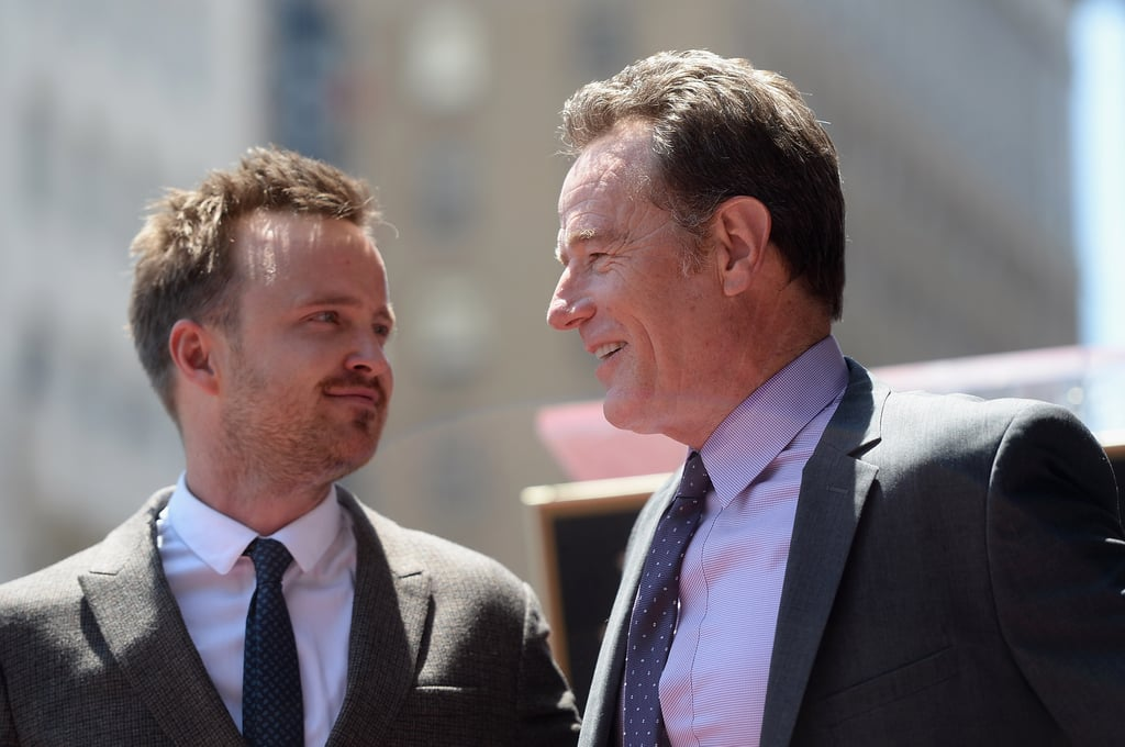 Bryan Cranston Shows Off His Lighter Side on the Walk of Fame