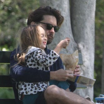 Tobey Maguire and Ruby Maguire Father-Daughter Date Pictures