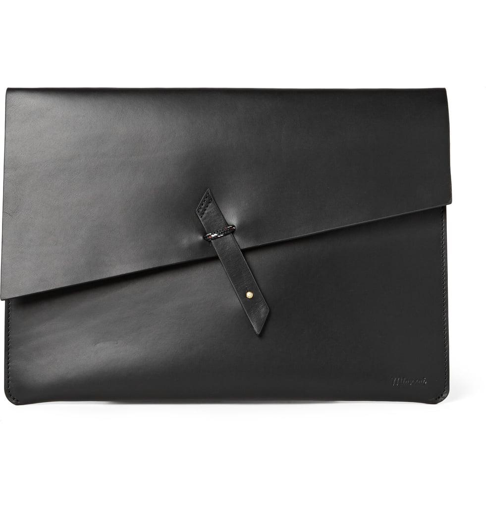 Miansai Rope-Trimmed Leather Portfolio ($245)