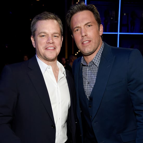 Ben Affleck and Matt Damon at the Guys Choice Awards 2016