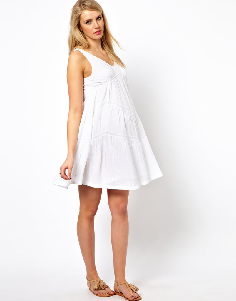 The relaxed fit of ASOS's maternity trapeze dress ($30, originally $59) makes it a foolproof choice for all three trimesters. Wear it over leggings come colder temps!