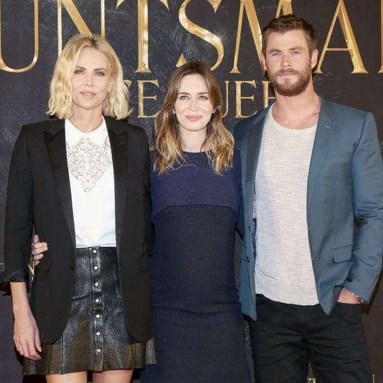Chris Hemsworth at Huntsman Winter's War Germany Pictures
