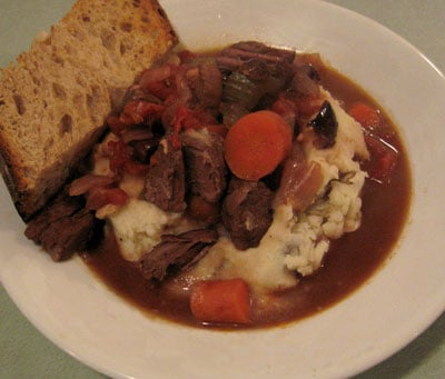 Recipe for Healthy Mediterranean Beef Stew