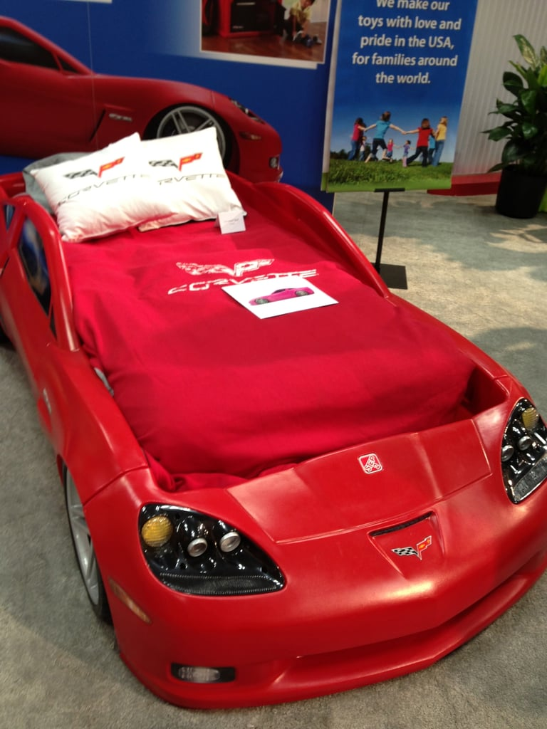 Because who wouldn't want to sleep in Step2's little red Corvette? Rumor has it it's coming out in pink, too!