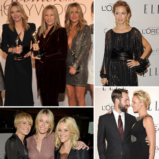 Reese Raves About Jen at the Women in Hollywood Event, With Barbra, Naomi, and More