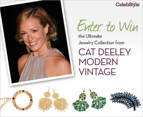 Enter to Win the Ultimate Jewelry Collection From Cat Deeley Modern Vintage