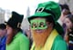 In the UK, a man sported leprechaun glasses.