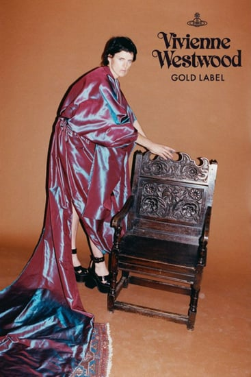 Stella Tennant is the face for all of Vivienne Westwood's label campaigns.