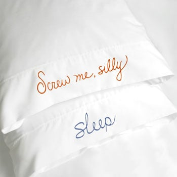 Sleep/Screw Pillowcase: Love It or Leave It?