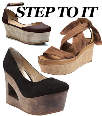 2011 Spring Footwear Trend: Flatform Wedge Sandals and Shoes