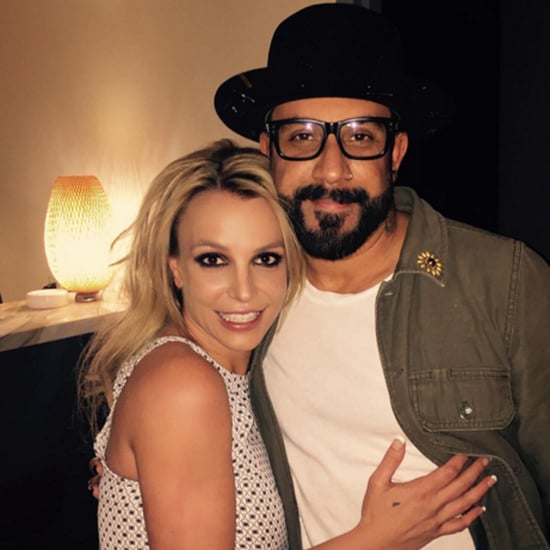 Britney Spears and A.J. McLean Instagram Photo