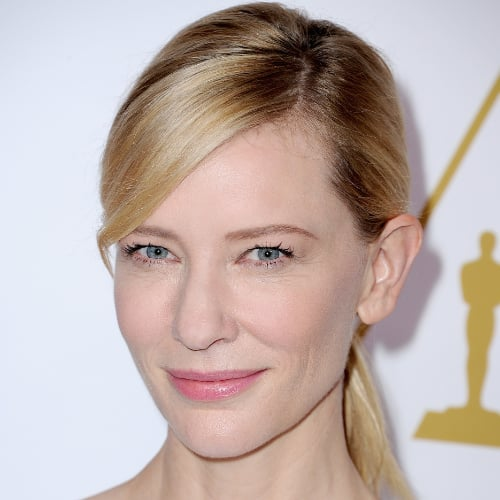 Celebrity Beauty At 2014 Oscars Luncheon: Cate Blanchett