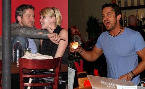 Photos of Gerard Butler and Shanna Moakler Kissing