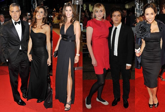 Photos of George Clooney, Elisabetta Canalis, Sophie Dahl at Fantastic Mr Fox Premiere, London Film Festival Pictures
