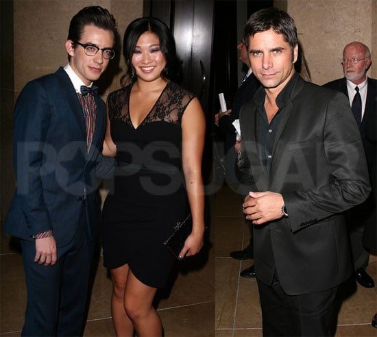 Pictures of John Stamos, Amber Riley, Kevin McHale, and the Cast of Glee