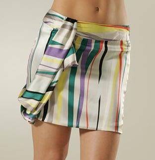 Twinkle Ribbon Print Wrap Mini Skirt: Love It or Hate It?