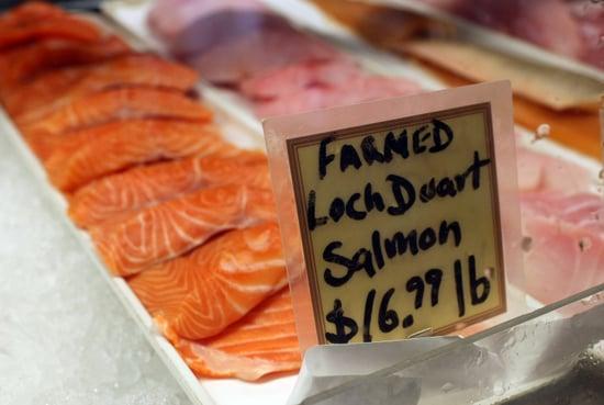 Target Stops Selling Farmed Salmon