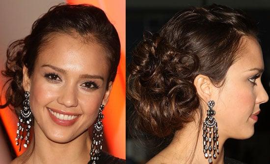 Jessica Alba's Hair Tutorial