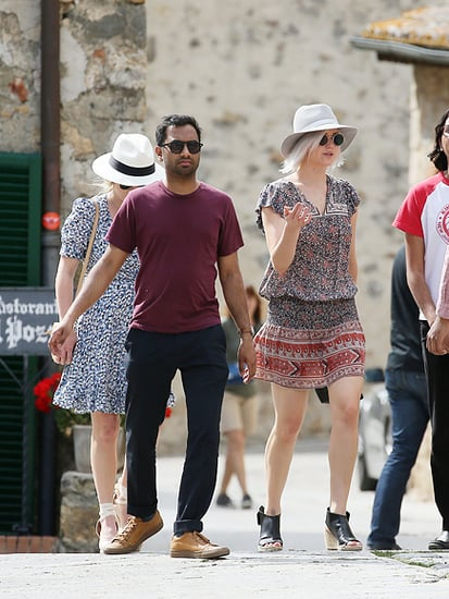 Bellissimo! Jennifer Lawrence Goes Sightseeing in Italy with Aziz Ansari Ahead of Her Best Friend's Wedding