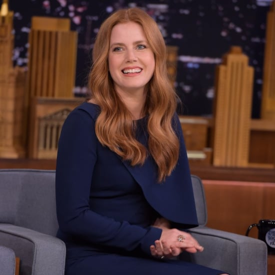 Amy Adams's Dress on The Tonight Show Starring Jimmy Fallon